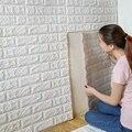 70x77 cm pe espuma safty casa decoração papel de parede 3d adesivos de parede diy decoração da parede de tijolo sala crianças quarto adesivo decorativo
