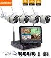 1280*720 P HD Беспроводной Открытый Сети/IP Камеры Безопасности 4CH 720 P HD WI-FI NVR Беспроводной CCTV видеонаблюдения Системы Домашней Безопасности