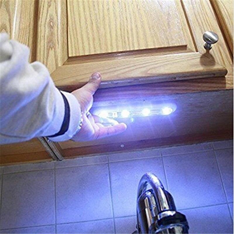 Luzes da Noite alto brilho 4led lâmpada de Tipo Pacote Size : 19cm x 5cm x 4cm (7.48in x 1.97in x 1.57in)