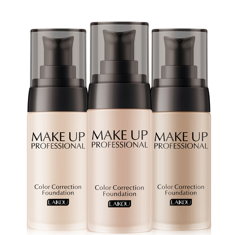 Makeup Foundation Oil-control Base Bb Face Liquid Foundation Cream Concealer Matte Face Full Coverage Professional Make Up Cream Fashionable Style; In