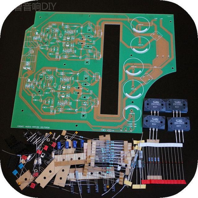 US $82 8 10% OFF|Aliexpress com : Buy ZEROZONE DIY Clone NAIM NAP150 Stereo  Power Amplifier Kit 60W 8ohm /120W 4ohm L11 43 from Reliable Amplifier