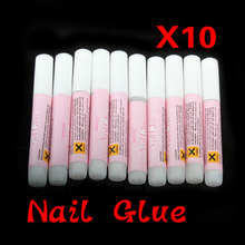 10 x 2g Mini ProfessionaL Beauty Nail False Art Decorate Tips Acrylic Glue