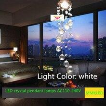 Современный из светодиодов кристалл проходу лампа потолок лёгкие AC110-240V D85MM * H300mm