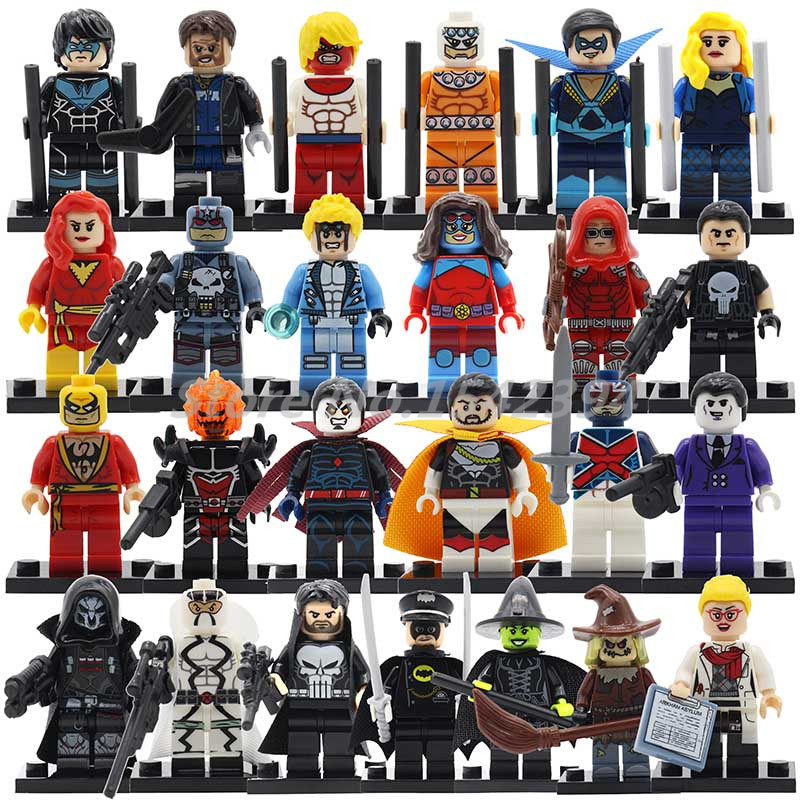 Single Sale Steward Man Alfred Building Blocks Batman DC Marvel Superheroes Avenger Captain Boomerang Toys For Children Hulk boomerang alpha line 3