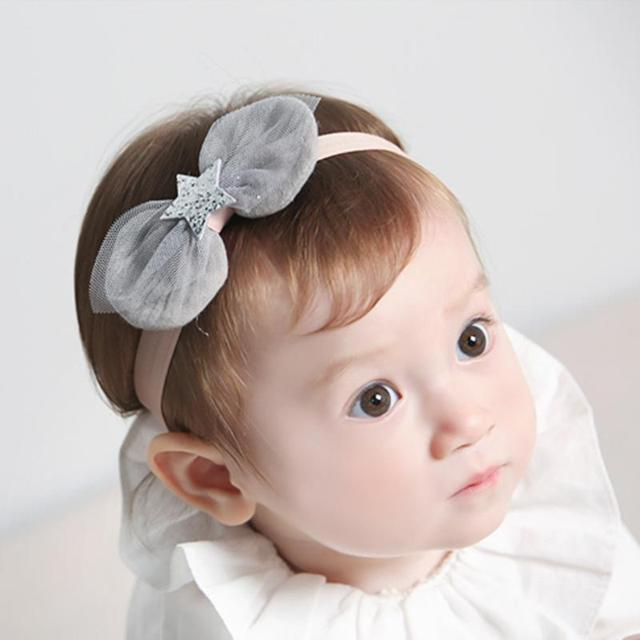 429df9570e1 1PC Baby Hairband Lace Star Baby Flower Headband Flower hair bands for girls  Headwear Hair Bow for Children Kid Hair Accessories