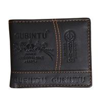10 stks (ASDS Mens Luxe Lederen Bifold Credit/Id-kaart Ontvangst Houder Slanke Portemonnee