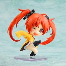 Haocaitoy Figure Toys GCS nendoroid Q Version Aihara Enju Hatsune Miku PVC Model Anine Action Figures Cute For Collecting 7cm недорого