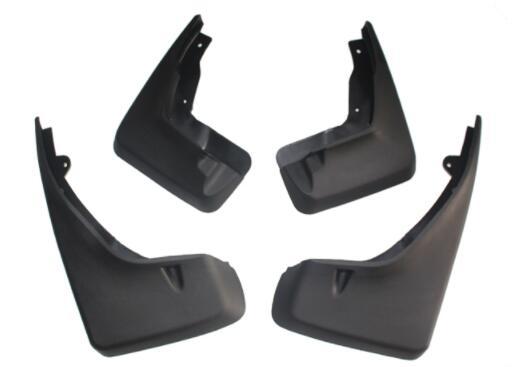 4pcs Car Black Front Rear Mud Flaps  For Land Rover Freelander 2 LR003322 LR003324