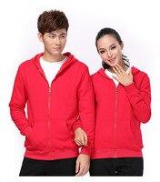 Fashion Plain Mens Women Spring & Autumn Casual Hoodie American Style Zip Up Jacket Sweatshirt Hooded Top S-XXL