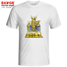 Golden Saint Shaka T-shirt Saint Seiya Virgo Knights of the Zodiac Rock Funny Style T Shirt Pop Casual Print Women Men Top Tee new arrival metalclub virgo shaka saint seiya cloth myth gold ex action figure toy