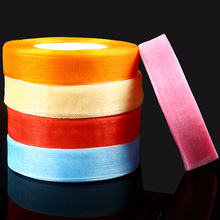 CNCRAFT 1  2.5cm 25mm (10 yards/) Organza Ribbon Wholesale gift wrapping decoration Christmas ribbons