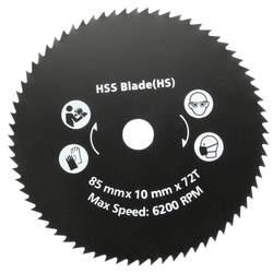 Новые 1 мм шт. 85 мм Т 72 т HSS циркулярная пила Лезвие дерево резка диск колеса для Worx WorxSaw дерево металл рабочие инструменты Лидер продаж