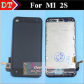 Alta Qualidade da Tela de Toque Do Painel de Toque Digitador + Display LCD Para Xiaomi 2 2 S M2 M2s Mi2 Mi2s Celular Inteligente Com Quadro