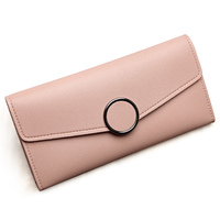 Hot Selling Long Design Women Wallets High Grade Clutch Bag Zipper Coin Purse Handbag Brand Long