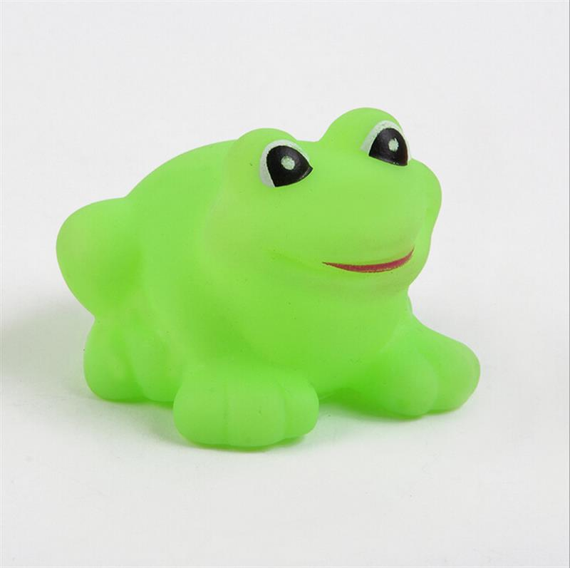 Pack Of 10 PcsFunny Baby Rubber Bathtub Toys Frogs Green Bath Time ...