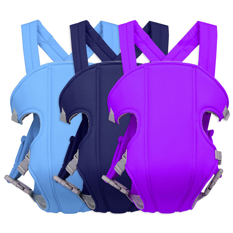 Backpack Ergonomic Cloth Shoulder-Strap Mesh Baby Adjustable 6-Colors Multifunctional title=