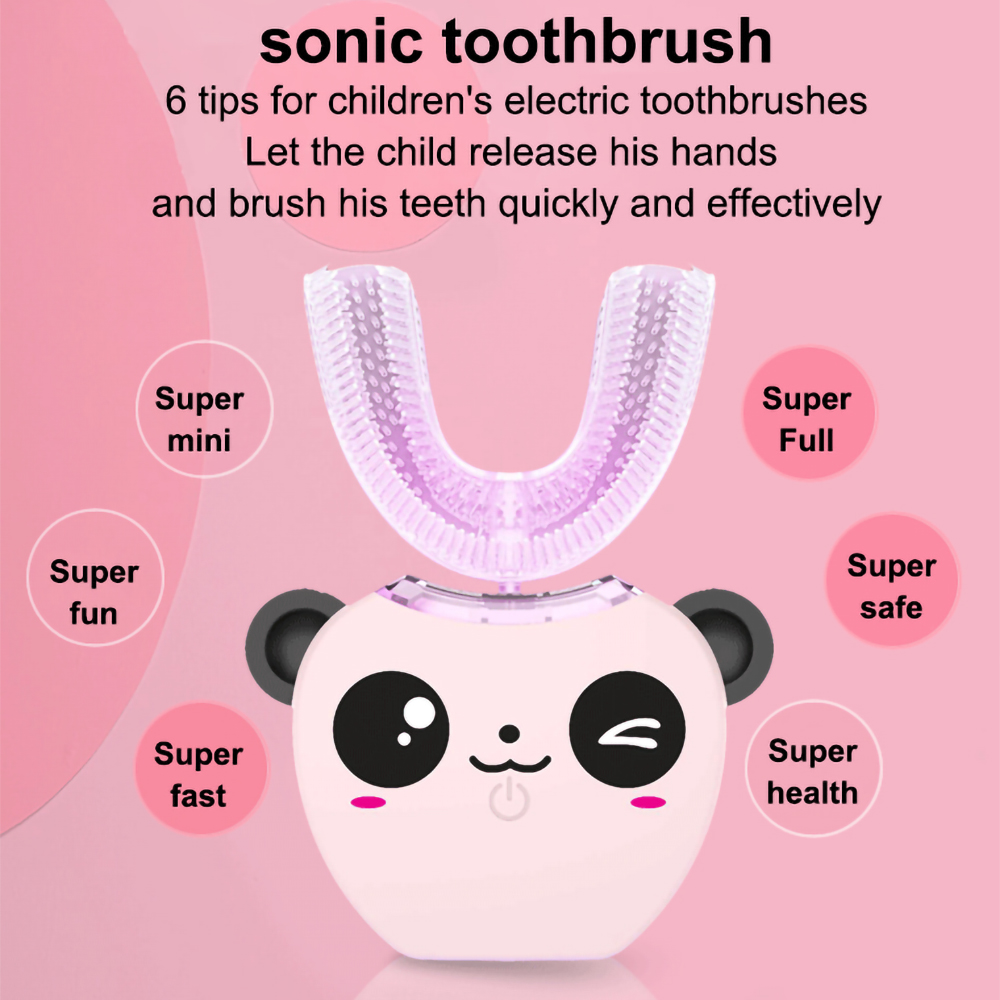 360 ° Automatic Sonic Electric Toothbrush Waterproof Intelligent U Type Automatic Toothbrush Whitening Electric Tooth brush