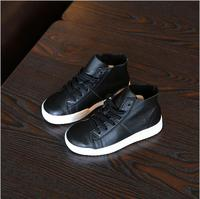 High Quality Leather Shoes Bang Child Boots Baby Shoes For Boys And Girls Fashion Casual Shoes
