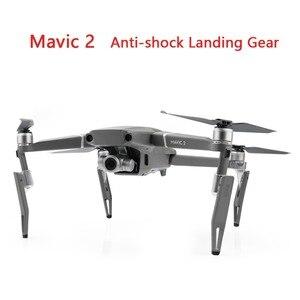 Image 1 - DJI Mavic 2 Pro/Zoom Anti şok DJI Mavic 2 Drone Yüksekliği Genişletilmiş Arka Ayak yükseltmek Koruyucu Aksesuarları