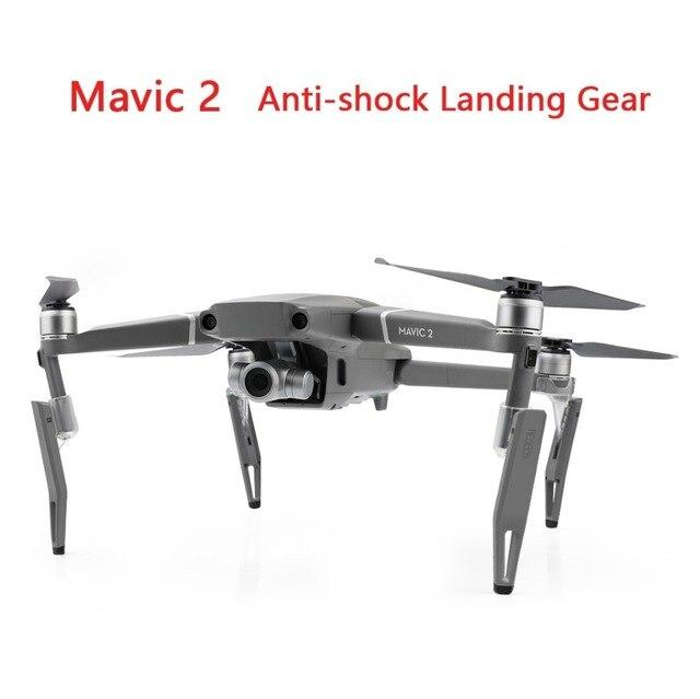 DJI Mavic 2 Pro/Zoom Anti şok DJI Mavic 2 Drone Yüksekliği Genişletilmiş Arka Ayak yükseltmek Koruyucu Aksesuarları