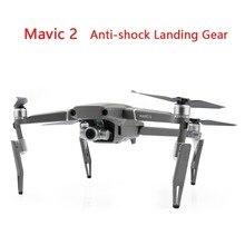 DJI Mavic 2 Pro/Zoom Anti shock Carrello di Atterraggio per DJI Mavic 2 Drone Altezza Estesa Piedi Posteriori intensificare Protector Accessori