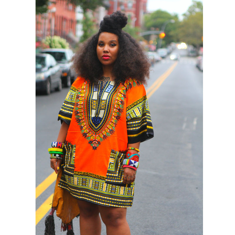 African American Girls Fashion: Dashikis African Dresses For Women Panas Succunct