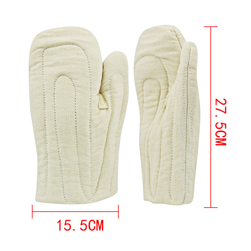 Kitchen Insulated Non-slip Heat Resistant Gloves Cooking Microwave Oven Mitt Canvas&Cotton Thickening Microondas Cozinha Gloves oven mitt flame resistant 100% cotton treated fabric each
