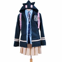 2018 Super DanganRonpa 2 Chiaki Nanami Cosplay Costumes Custom Made