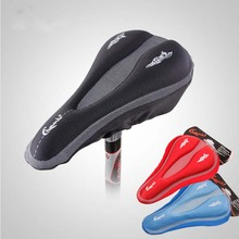 3D GEL Bicycle Saddle Cover Men Women MTB Road Comfortable Silicone Cushion Breathable Soft Cycling Bike Seat Shockproof Saddle promend silica gel cycling bicycle saddle cushion seat breathable soft comfortable road mtb bike saddle parts sillin bicicleta