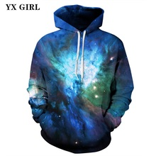 Women/Men Space Galaxy 3d Printed Casual Hoodie Sweatshirts Universe Tracksuit Hooded Sweatshirt Unisex Pullover Dropshipping