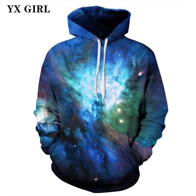 Women/Men Space Galaxy 3d Printed Casual Hoodie Sweatshirts Universe Tracksuits Hooded Sweatshirt Unisex Pullovers Dropshipping