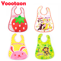 4pcs Lot Cartoon Design Baby Bibs Waterproof Baby Saliva Newborn Waterproof Aprons Baby Bibs Babador Bandana