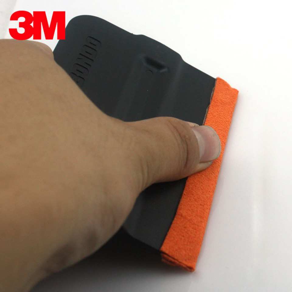Image 4 - 10cm*2.5cm 3m orange window guide tape felt to duce or eliminate scratches in window film tinting MO 187 3-in Car Stickers from Automobiles & Motorcycles