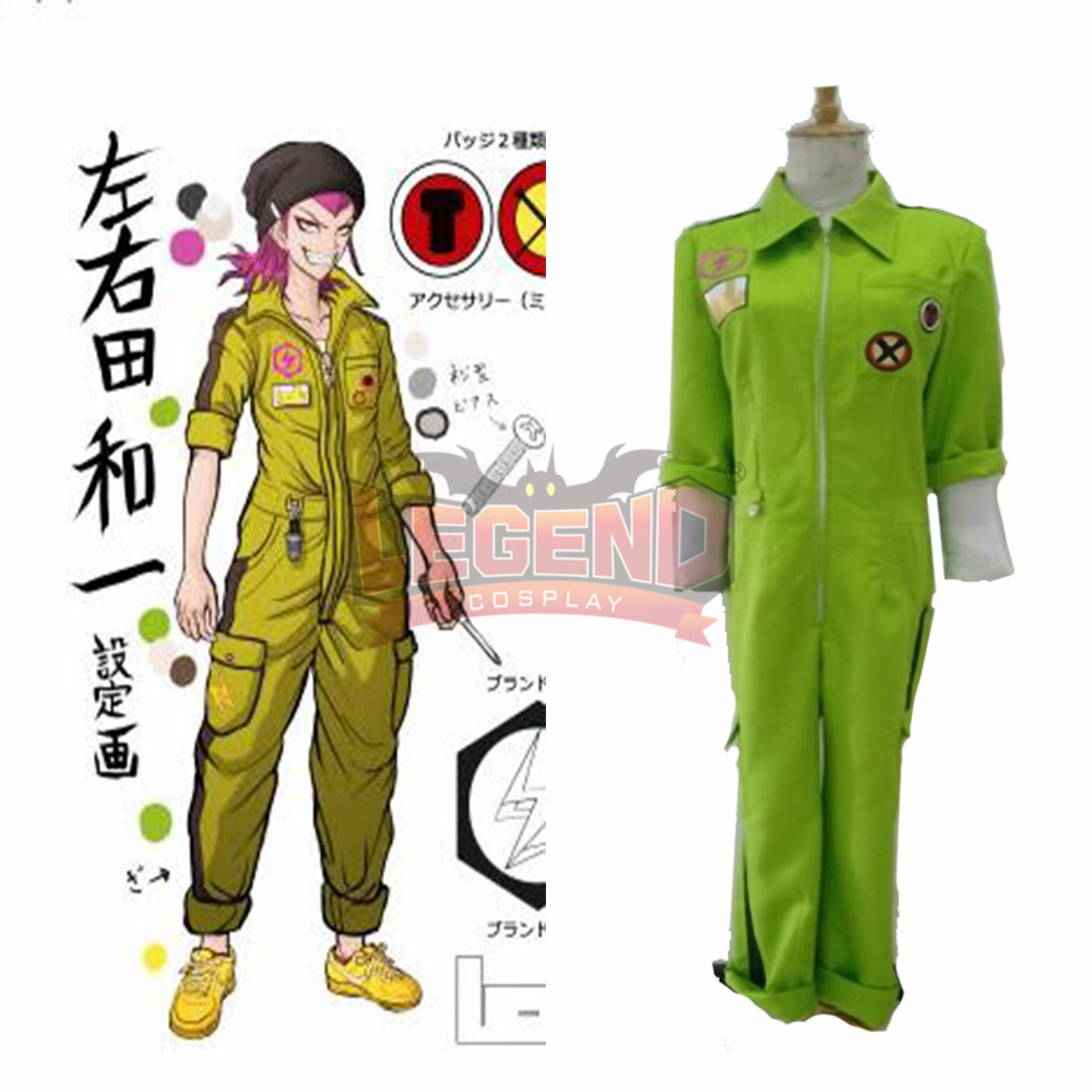 Danganronpa 2: Goodbye Despair Kazuichi Souda Cosplay Costume halloween costume