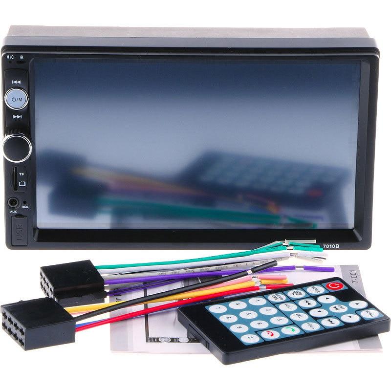 7 pouces autoradio MP4 MP5 OLED couleur écran lecteur de musique Bluetooth mains libres appelant voiture MP3 carte machine inversion visuelle - 5
