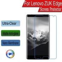 Clear or Matte or Nano Anti-Explosion Soft Screen Protector Protective Film For Lenovo ZUK Edge 5.5