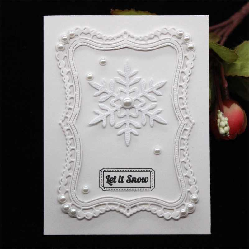 KSCRAFT Frame Metal Cutting Dies Stencils for DIY Scrapbooking/photo album Decorative Embossing DIY Paper Cards