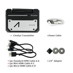 Image 5 - CINEEYE 5G HDMI Transmissão De Imagem Sem Fio Transmissor de Vídeo Sem Fio Mini DH 3D LUT Carregamento para Telefone Andriod IOS iPhone iPad
