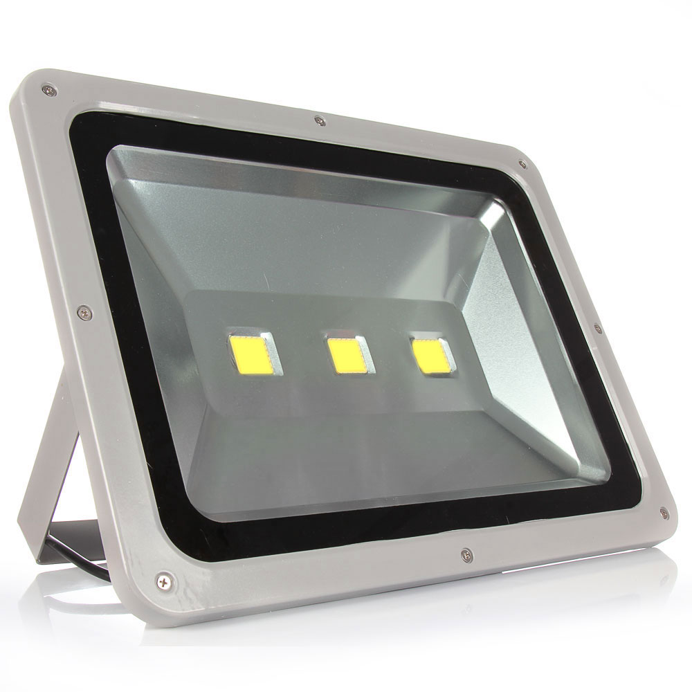 LED flood light 100W 150W 200W Led Outdoor Floodlight AC85-265V Christmas Reletor Led Flood Light Spotlight Free shipping