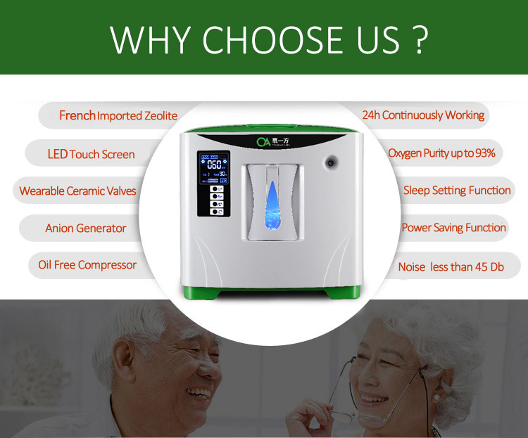 XY-1  portable oxygen concentrator-2