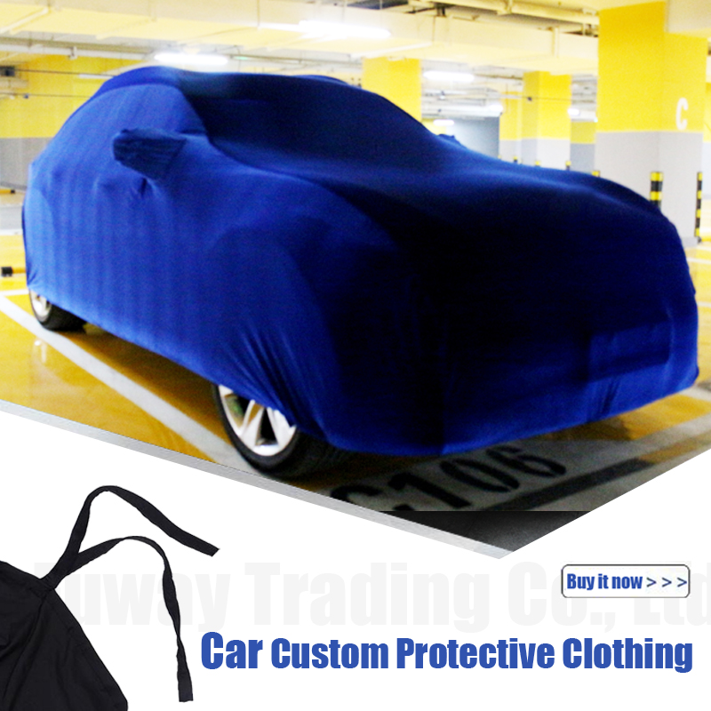 FUWAY Car Cover Auto Anti-UV Outdoor Sun Shade Rain Snow Scratch Resistant Cover For Cadillac ATS BLS Escalade DeVille