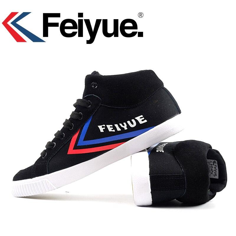 Feiyue - Zapatillas de artes marciales para hombre negro negro, color negro, talla 38