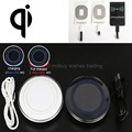 Qi Wireless Charger or + Receiver for iPhone 7/6/6s/plus/s4/s3/a5/LG x power/k10/Meizu m5/m3/m2 note/mini/m3s/Oukitel k6000 pro