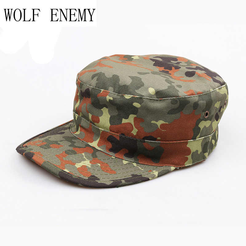 31f8c54acf2967 Desert German Digital Woodland Black ACU Forest Camo Camouflage Military  Army Hunting Tactical Cap Caps Hat