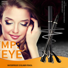 TOP Quality 1pc Black Liquid Eyeliner Pencil Makeup Waterproof Eye Liner Pencils for Women Professional Girls Eyebrow Cosmetics