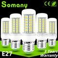 SMD 5730 Lampada LED Lamp E27 220V 110V Spotlight Light Bombillas LED Corn Bulb Transparent Shade Powerful LED Candle Light Bulb
