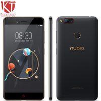 Nubia ZTE originais Z17 mini Mobile Phone 5.2 ''4 GB/6 GB RAM 64 GB ROM Snapdragon 652 Octa Núcleo Dual Câmera Traseira 13MP Celular Com Android