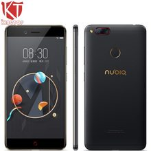"""Оригинальный ZTE Нубия Z17 мини мобильный телефон 5.2 """"4 ГБ/6 ГБ Оперативная память 64 ГБ Встроенная память Snapdragon 652 восьмиядерный двойной сзади Камера 13MP телефона Android"""