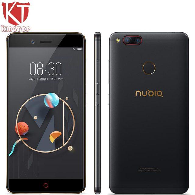 Original ZTE Nubia Z17 mini Mobile Phone 5.2'' 4GB/6GB RAM 64GB ROM Snapdragon 652 Octa Core Dual Rear Camera 13MP Android Phone