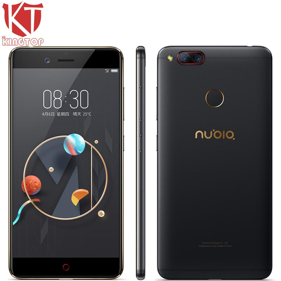 Originale ZTE Nubia Z17 mini Mobile Phone 5.2 ''6 GB RAM 64 GB ROM Snapdragon 652 Octa Core Dual Fotocamera Posteriore 13MP Android Phone